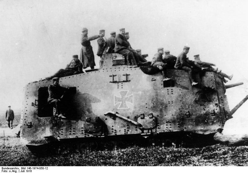 ドイツ軍戦車 a7v