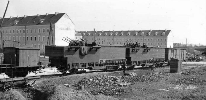 ドイツ軍 列車 列車砲 カスタムレゴ 作り方