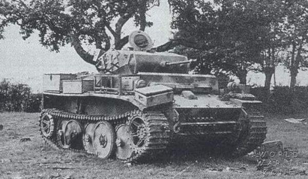 ドイツ軍戦車ルクス レゴ