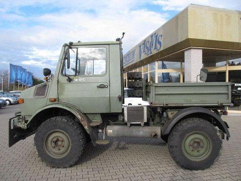 ユニモグトラック ドイツ軍